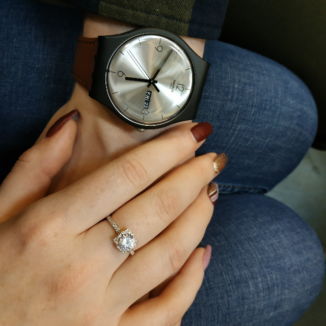 Прекрасное кольцо, рада, что выбрала его!)