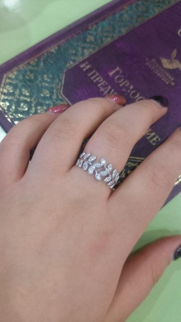 Нежное и изящное кольцо 🌸