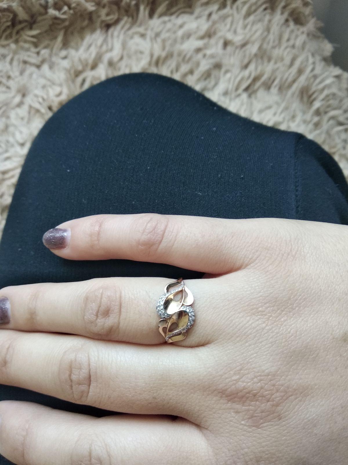 Кольцо,золото,