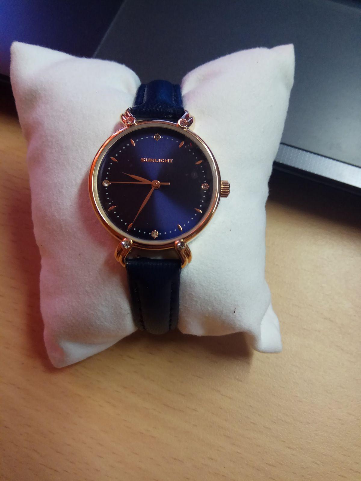 Очень стильные и красивые часы!