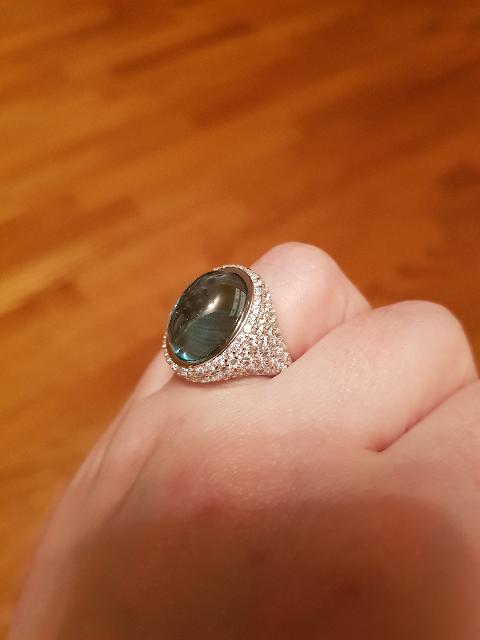 Перстень с каплей моря