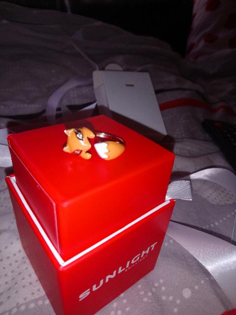 Рыжий 🦊 лисёнок, милашка!