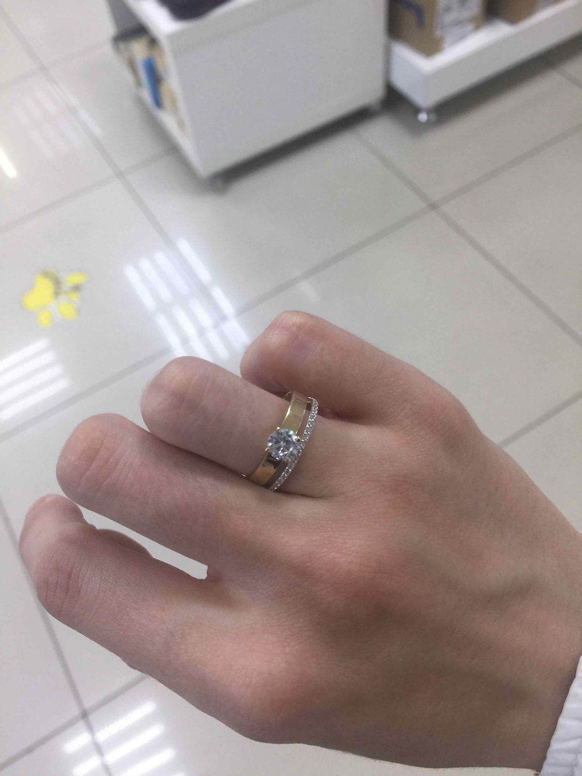 Восзитительное кольцо
