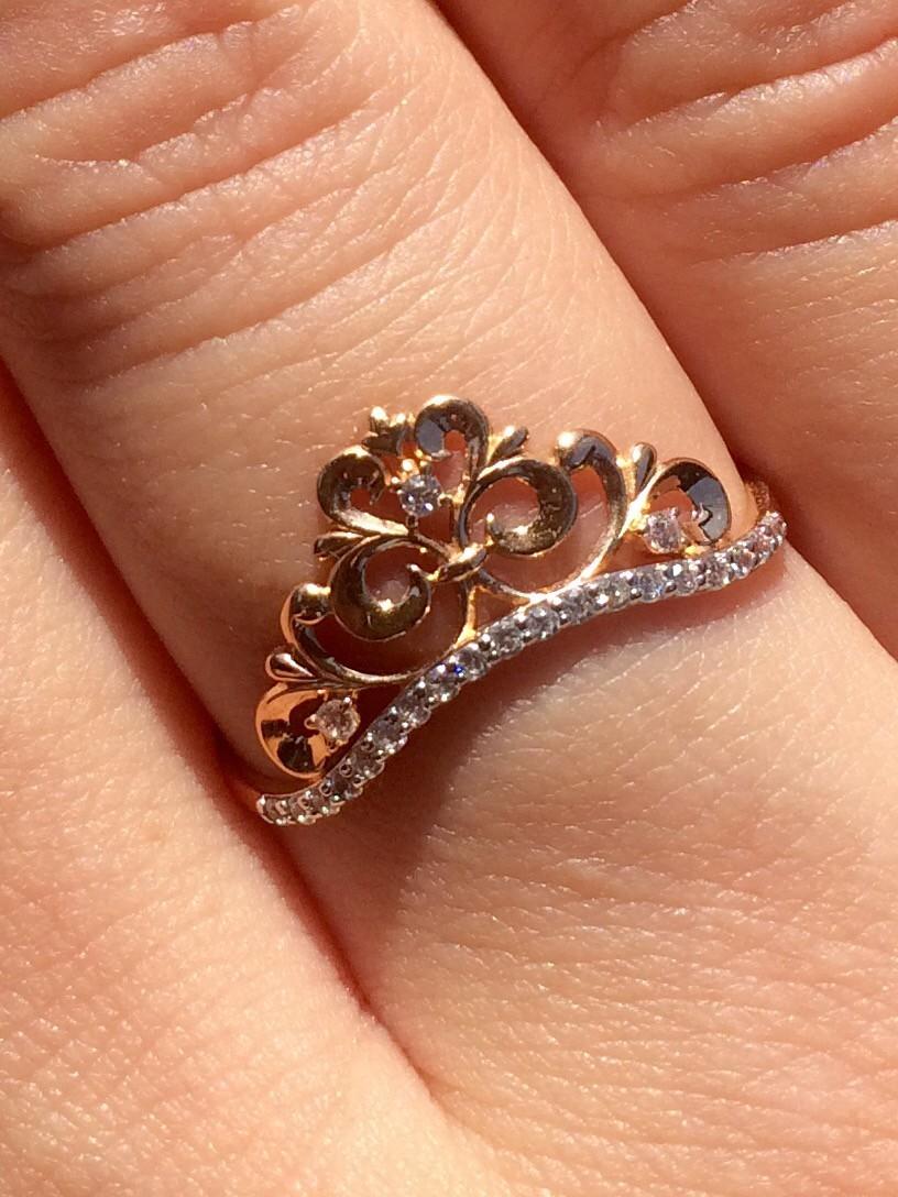 """Очень красивое и нежное кольцо приобретенное во время акции в """" Sunlight """""""