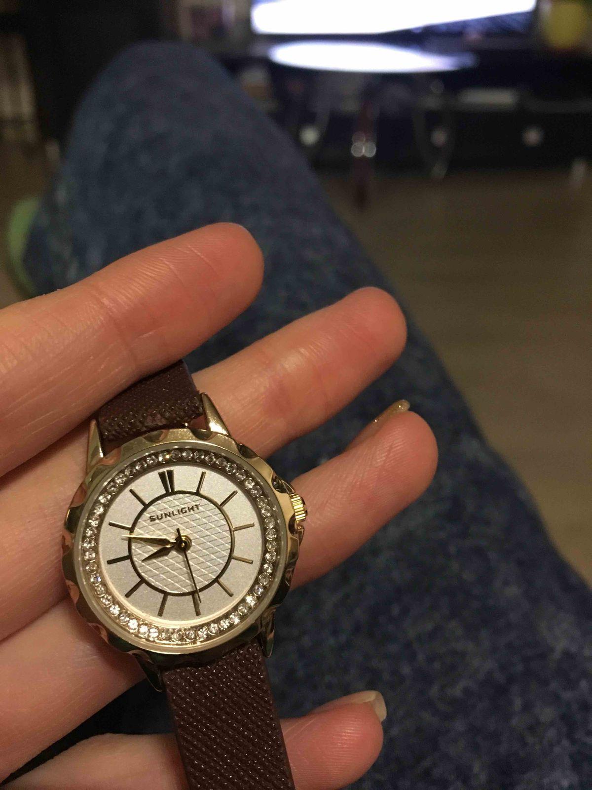 Часы из натуральной кожи