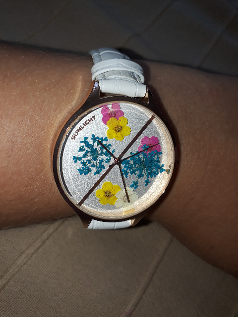 Часы SL в белом цвете