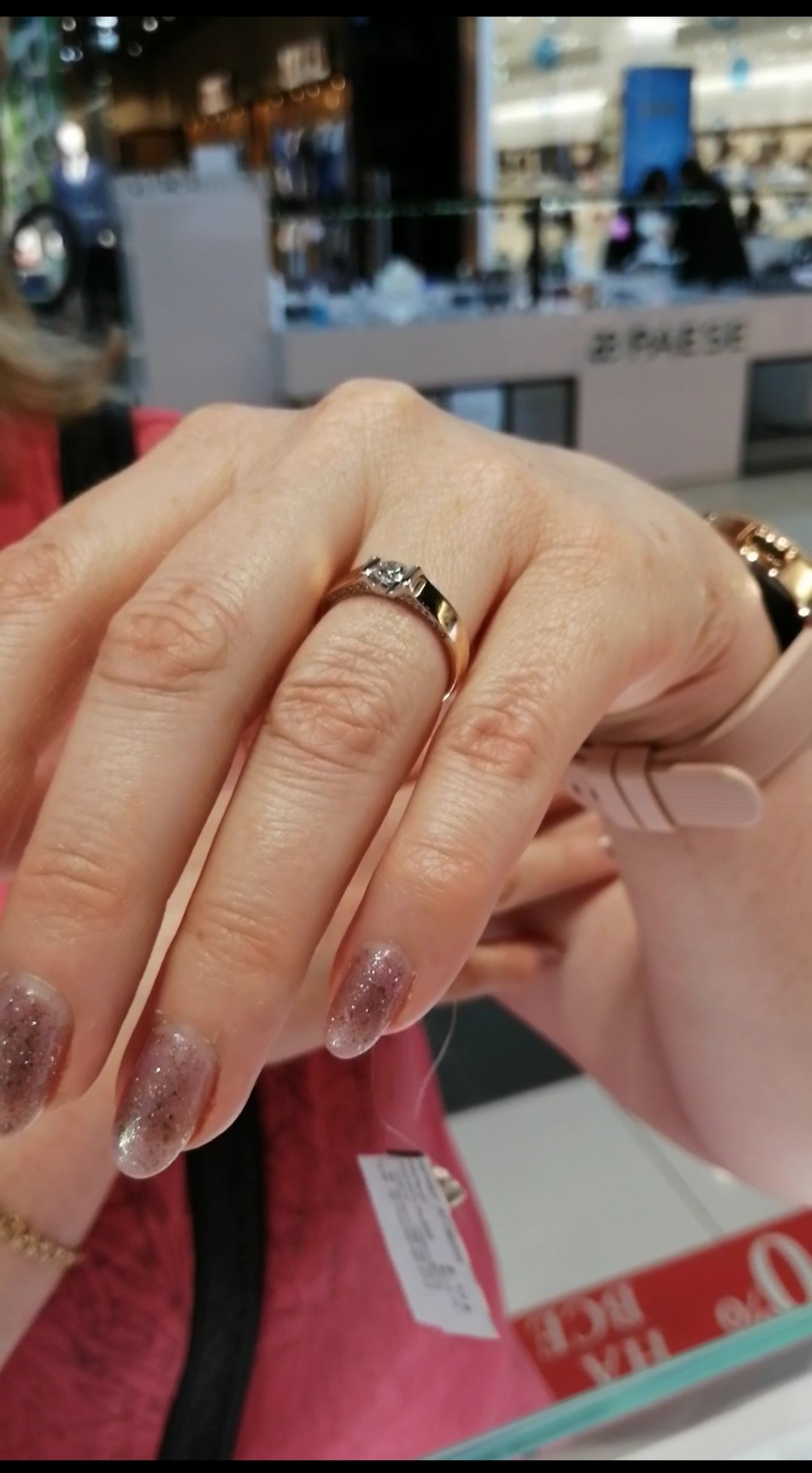 Шикарное кольцо на юбилей!