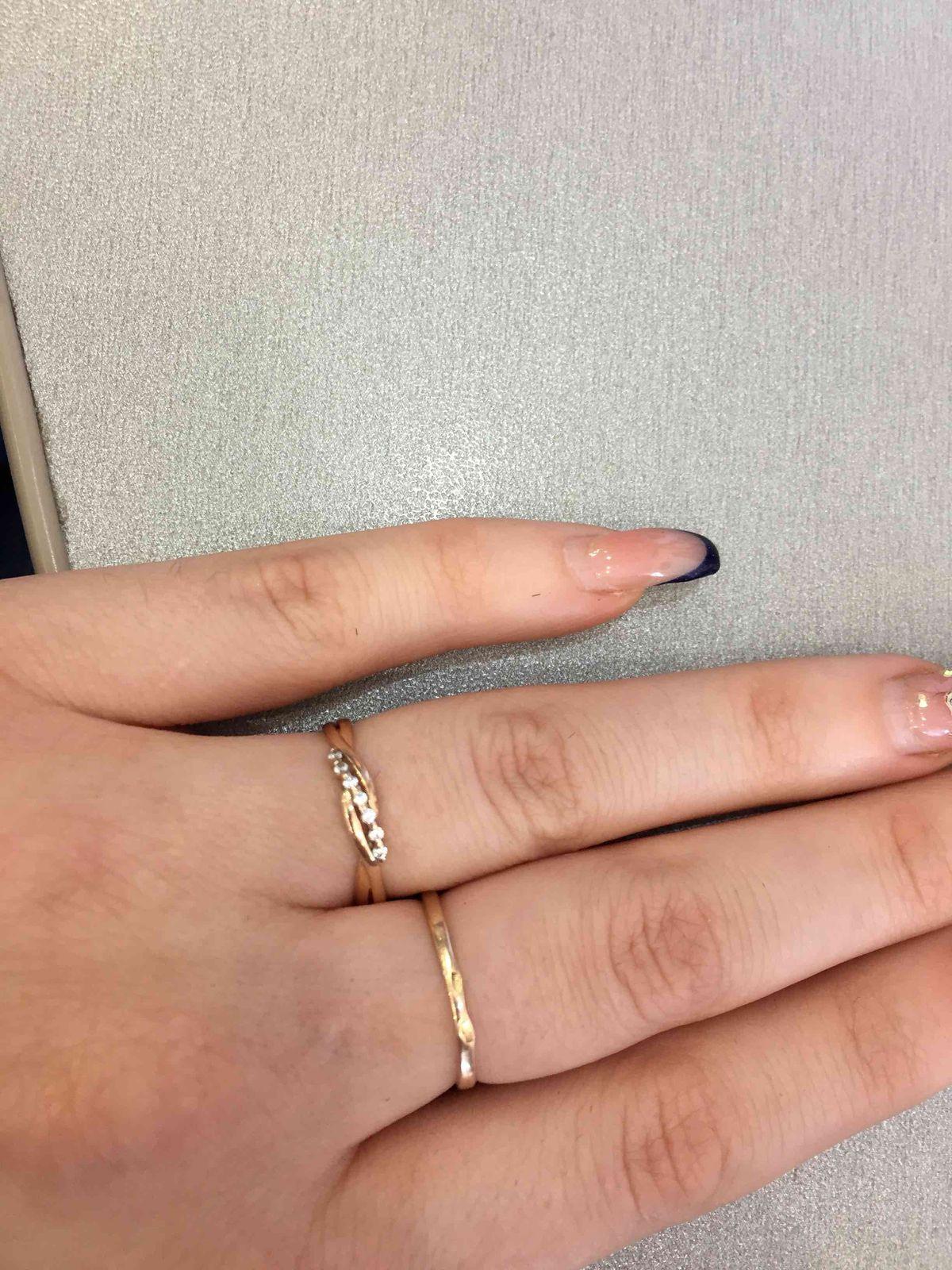 Кольцо мне в подарочек на день рождения