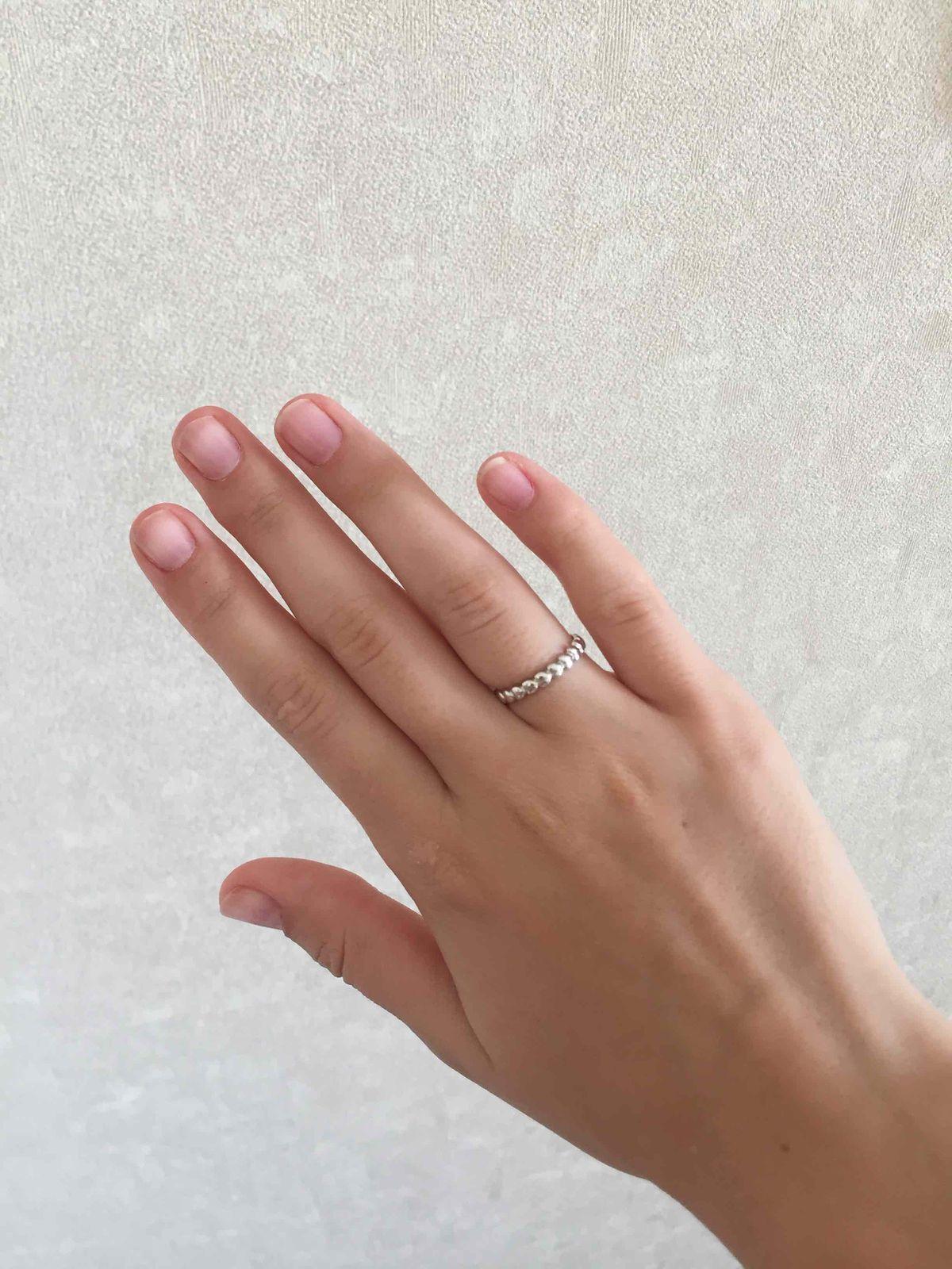 Серебрянное кольцо sunlight