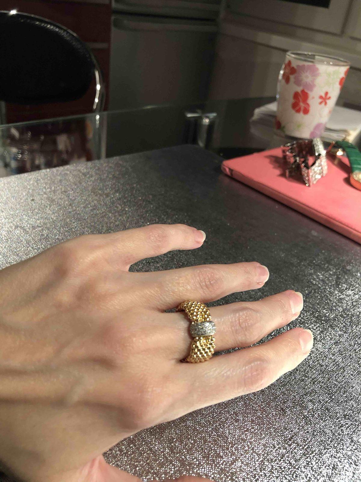 Идеальное кольцо, особенно в комплекте с браслетом!