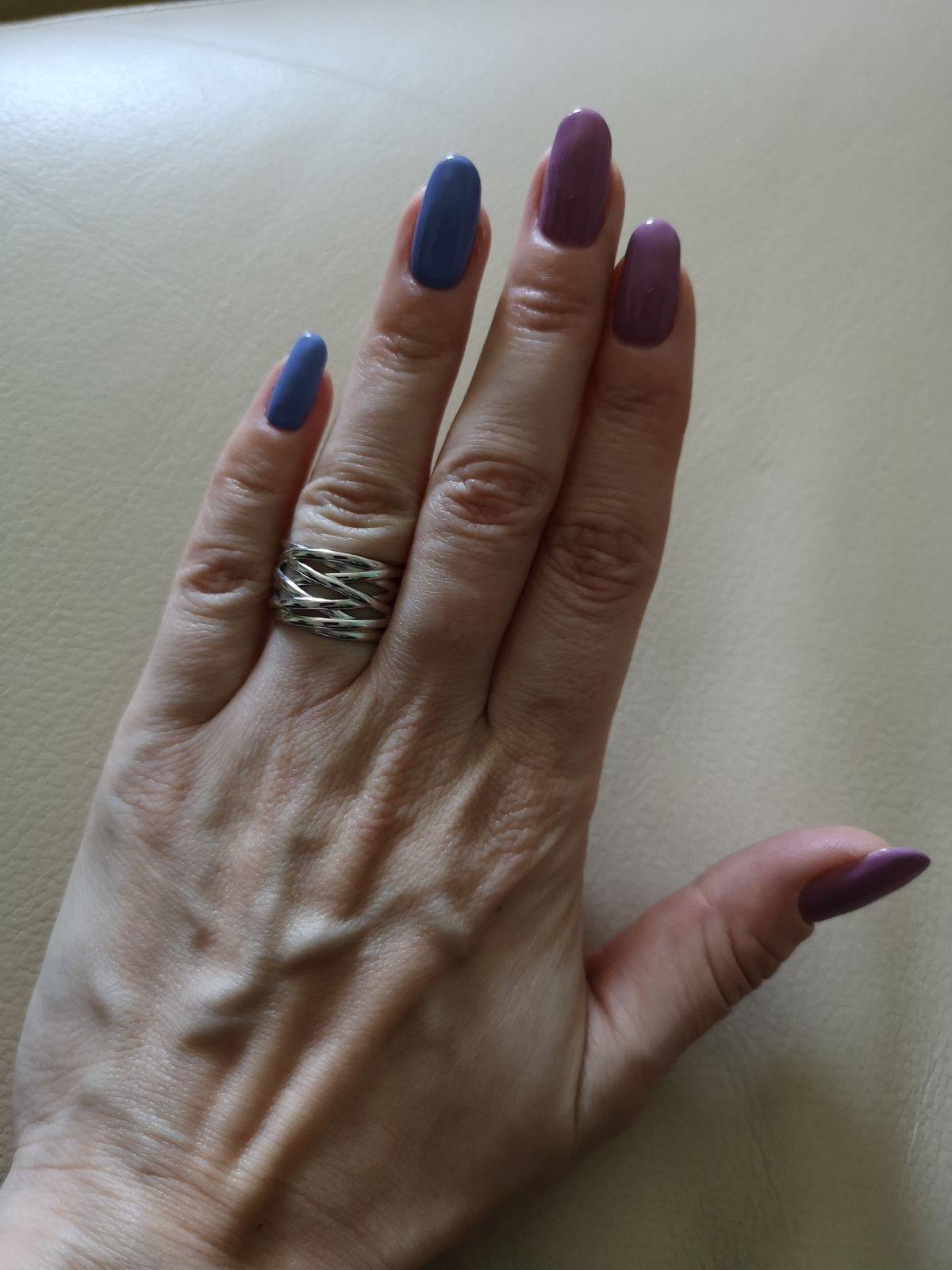 Кольцо из серебра, 925 пробы.