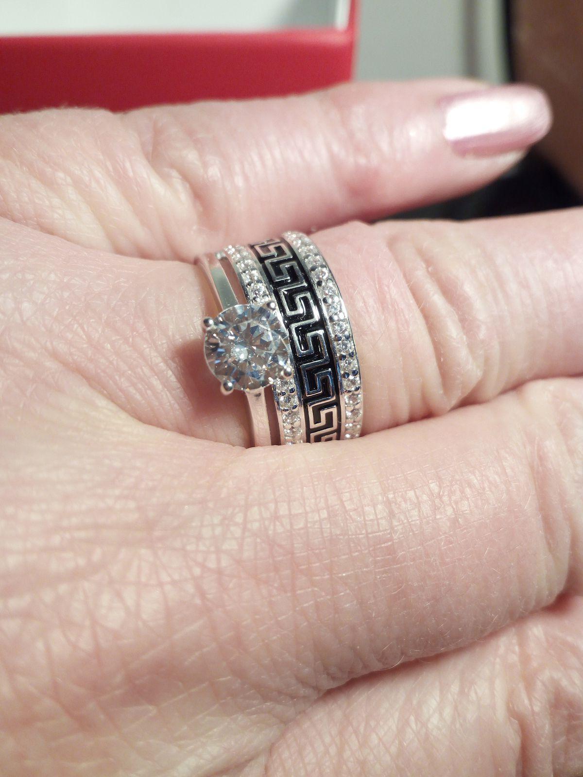 Красивое кольцо,два в одном.