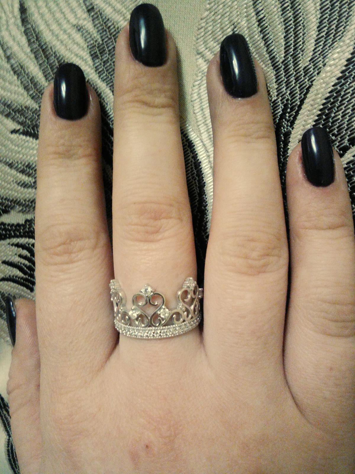 Крупное кольцо для крупного пальца)