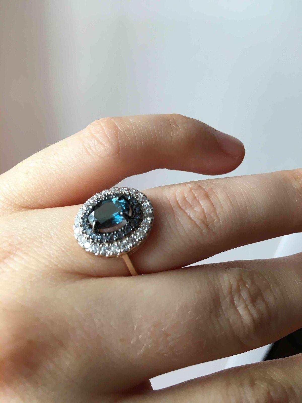 Почти кольцо принцессы Дианы