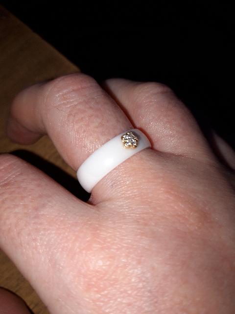 Кольцо приятное необычное