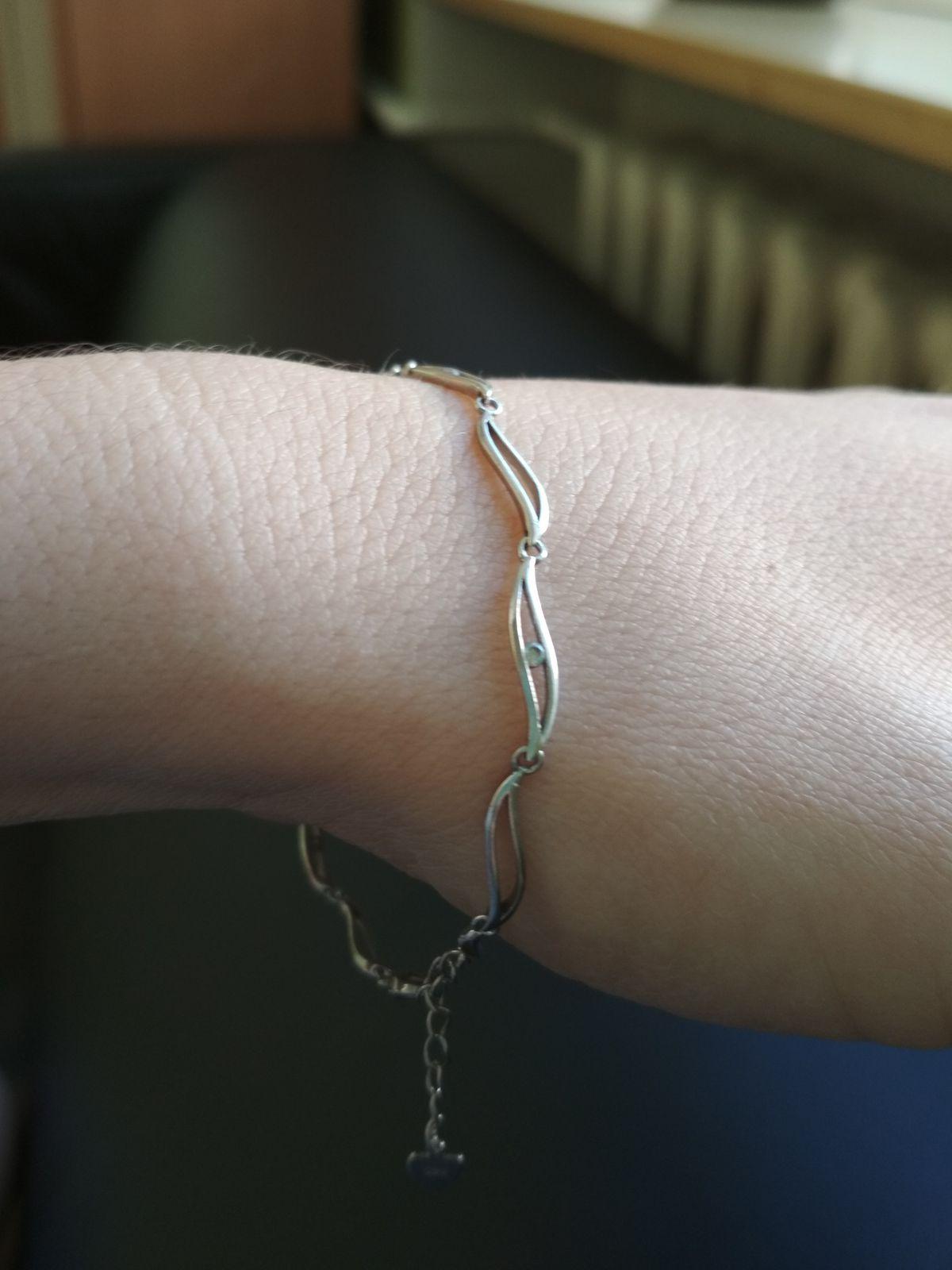 Нежный необычный браслет