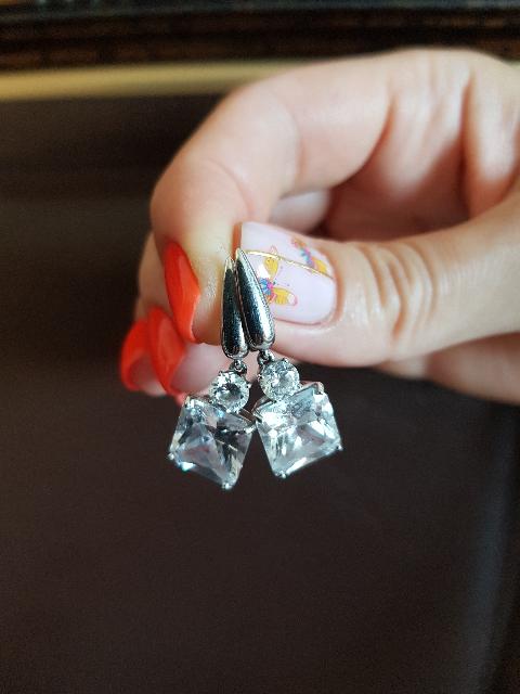 Серебряные серьги моей мечты