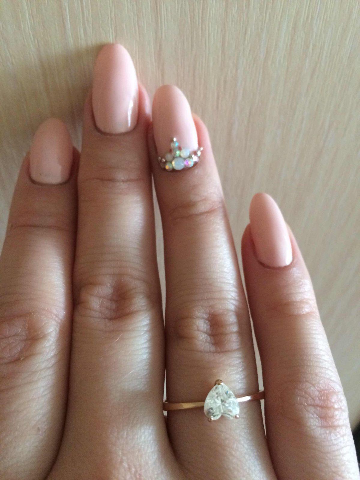 Очень милое и красивое кольцо!