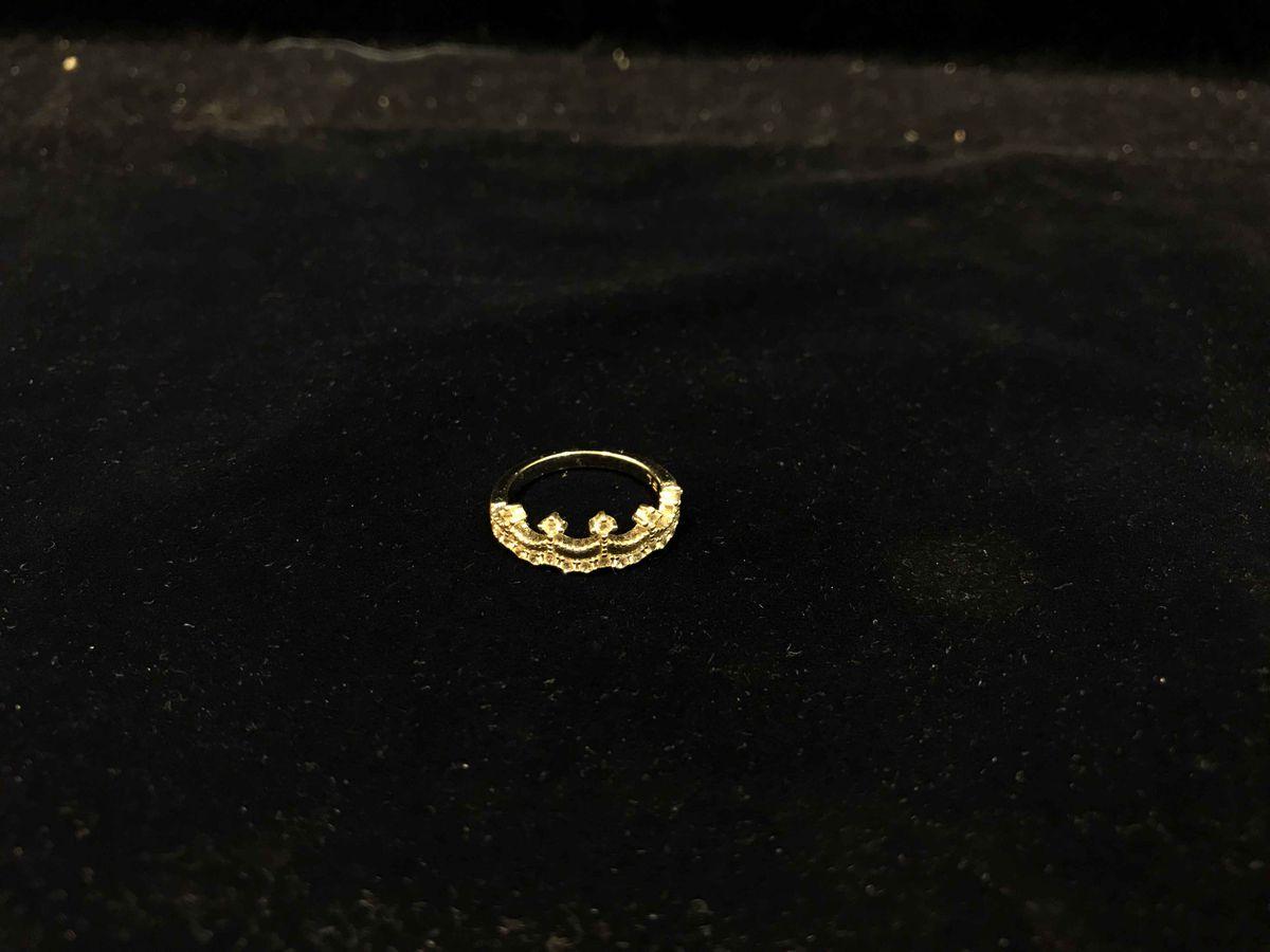 Кольцо в виде коронки