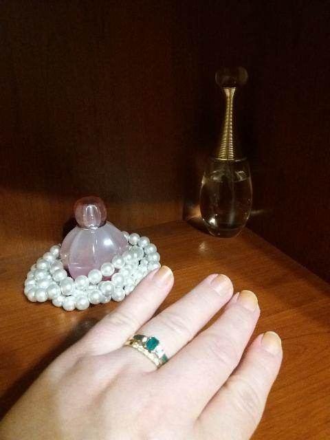 Колечко с бриллиантами.