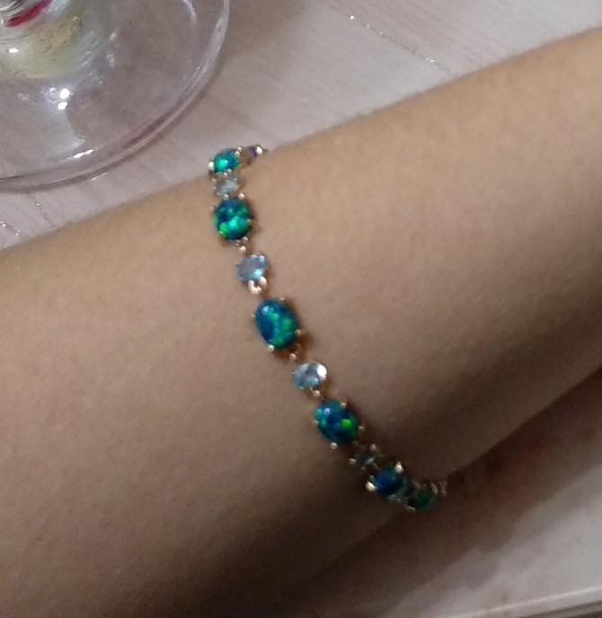 Самый красивый браслет из моей коллекции.