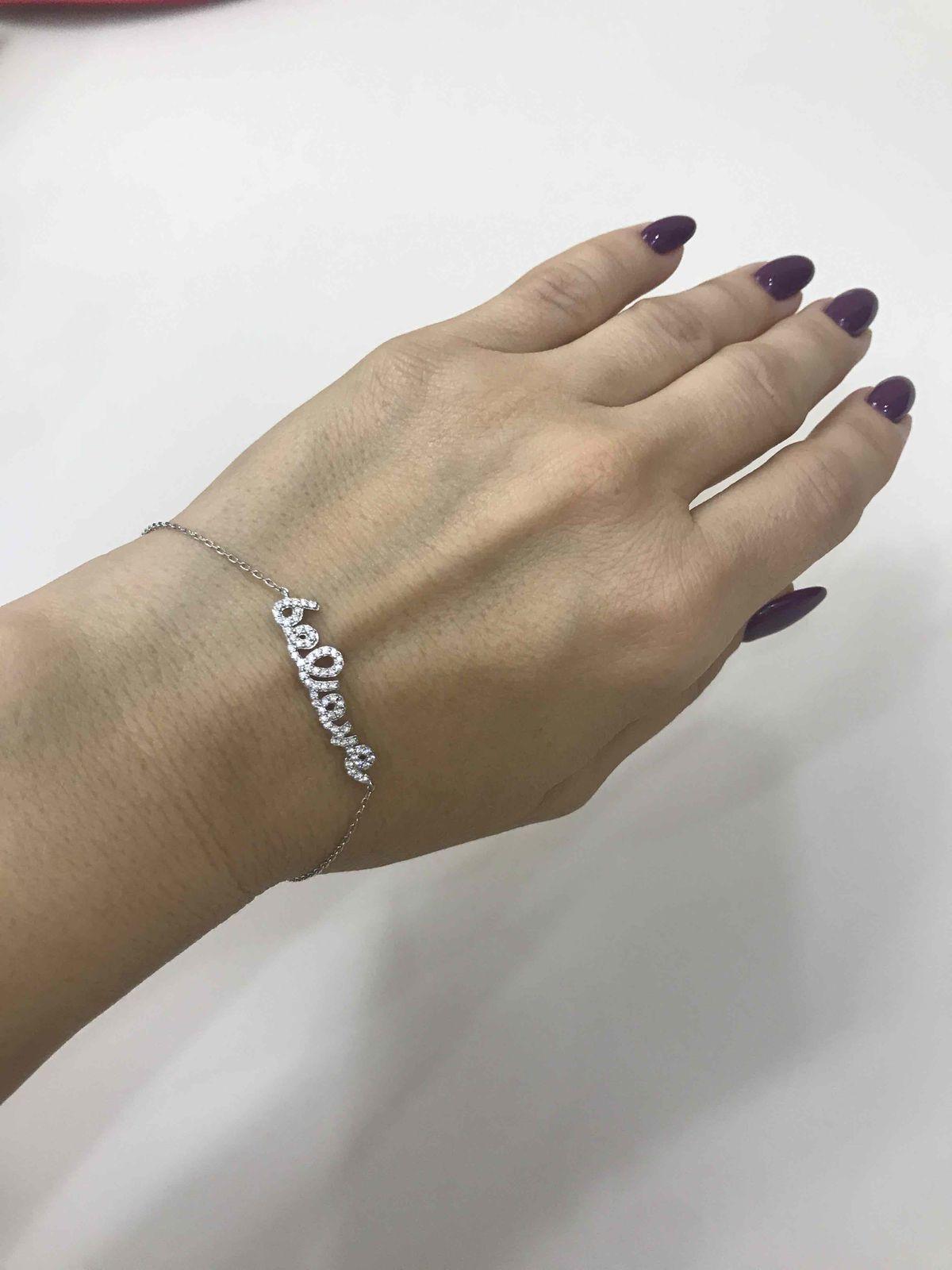 Серебрчнный браслет