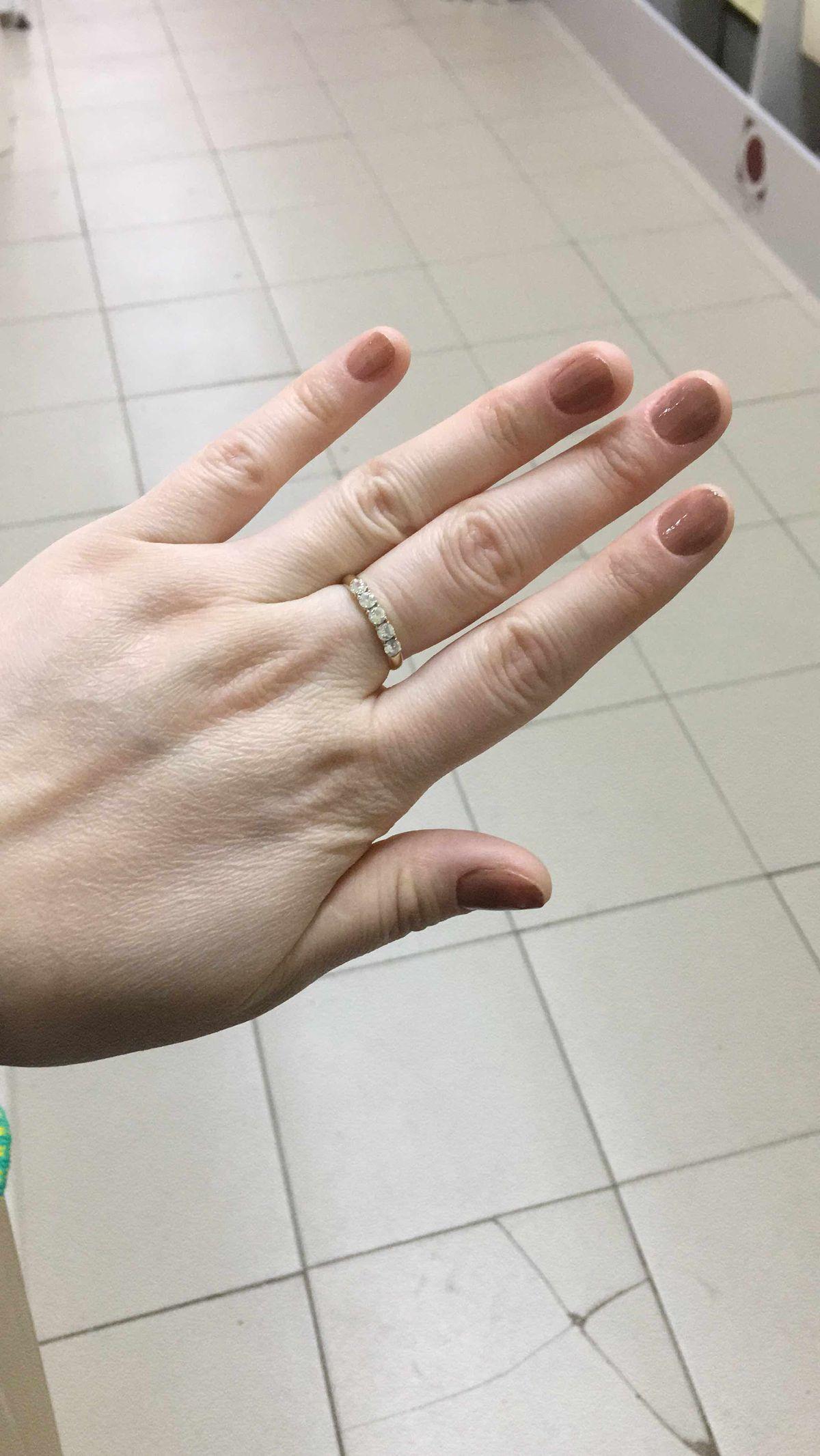 Кольцо с фианитом sunlight