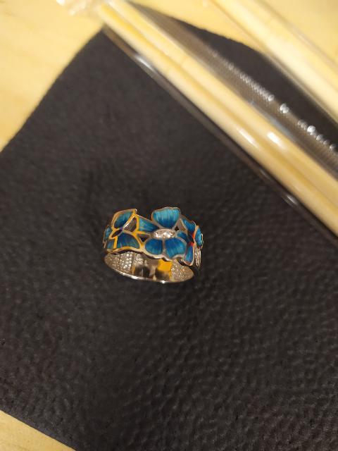 Кольцо Bloom.