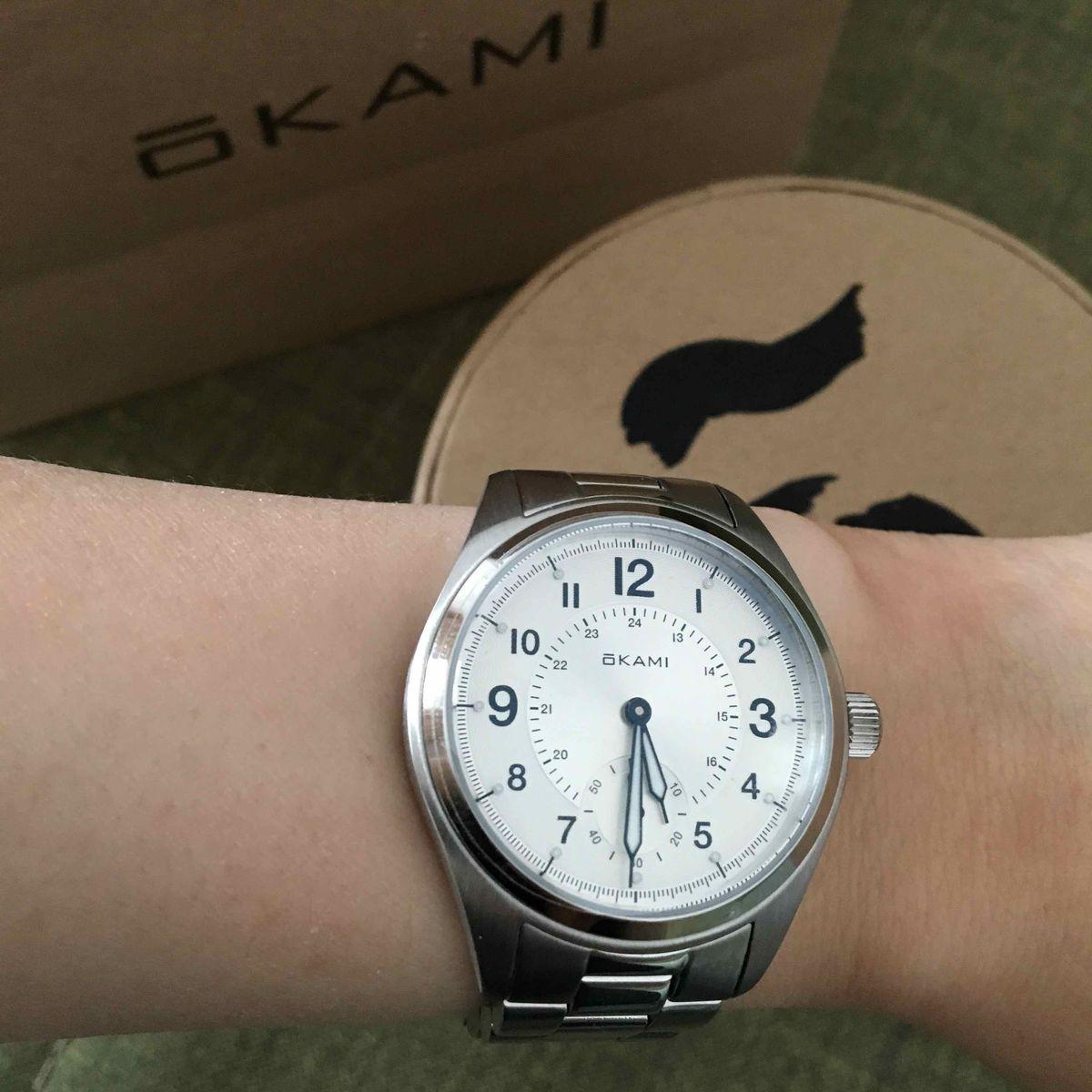 Японские часы okami