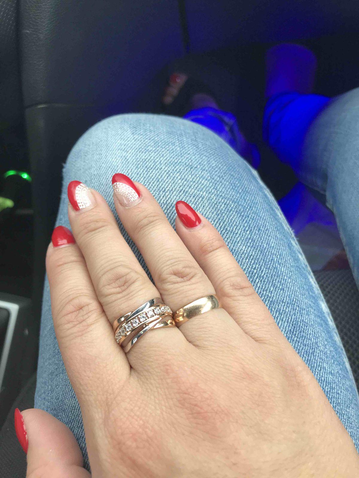 Изумительное кольцо с фианитами
