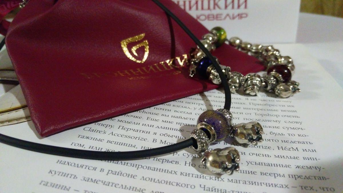 Шейный браслет для шармов